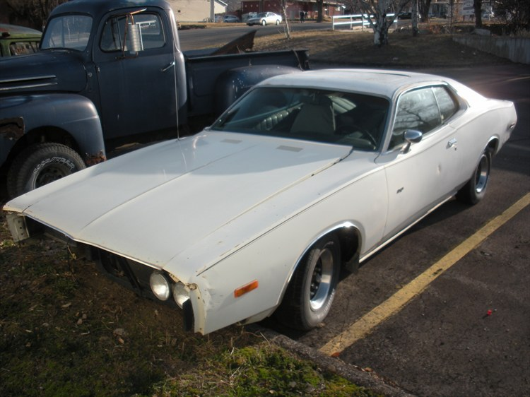 73 Charger 440 Sun Roof