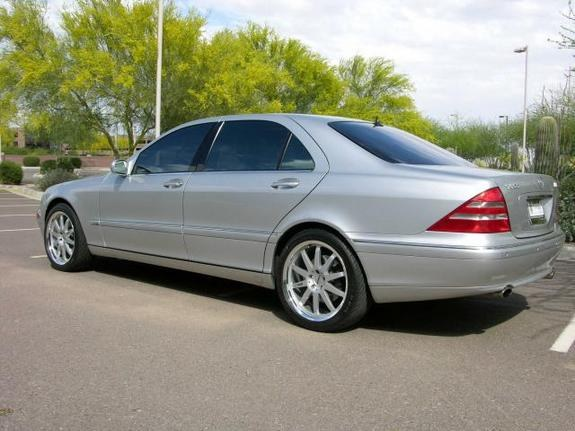 Another dhinds 2001 mercedes benz s class post photo for Mercedes benz s class 2001