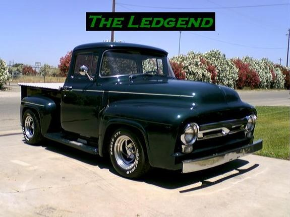 G-Zus01 1956 Ford F150 Regular Cab Specs, Photos, Modification Info