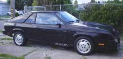 UnaClocker 1987 Shelby GLHS