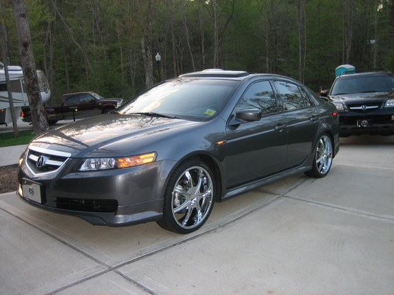 tite2def 39 s 2005 acura tl in hendersonville nc. Black Bedroom Furniture Sets. Home Design Ideas