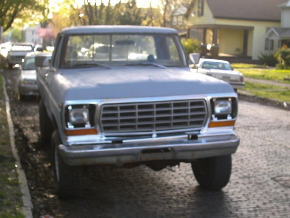 tonkaford 1979 Ford F150 Regular Cab 8401937