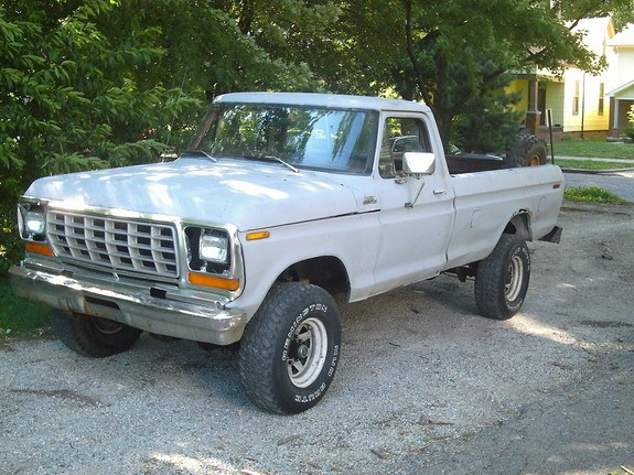 tonkaford 1979 Ford F150 Regular Cab 8401938