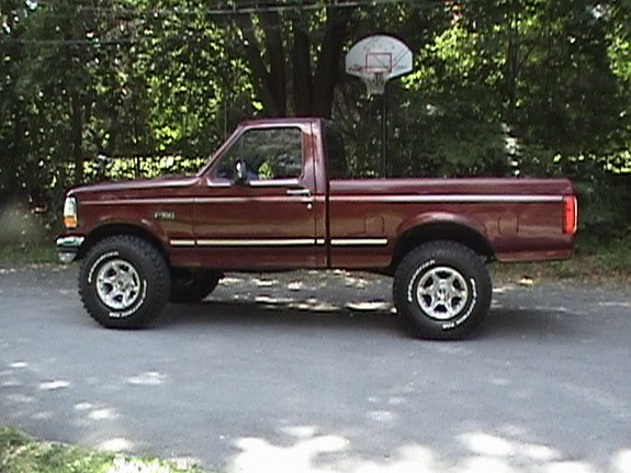Large on 1992 Dodge Extended Cab