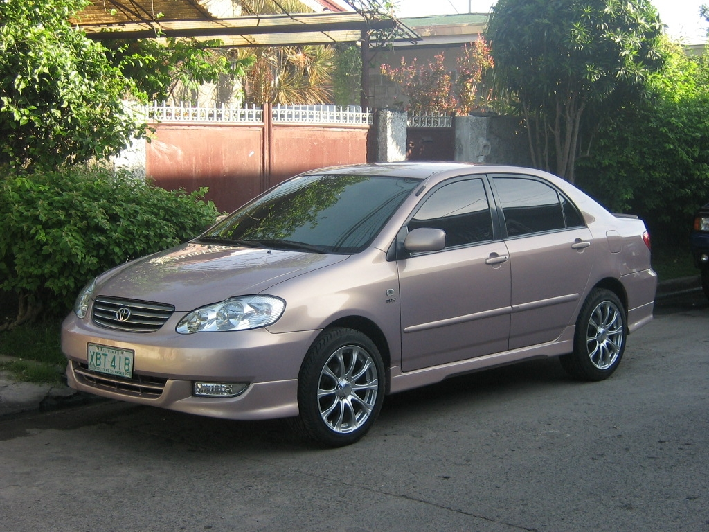 Meljeffrey 2002 Toyota Corolla Specs Photos Modification