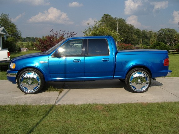 kingranch16on26s 2001 Ford F150 Regular Cab