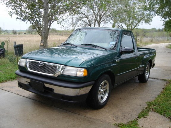 2000 Mazda B-Series-Regular-Cab