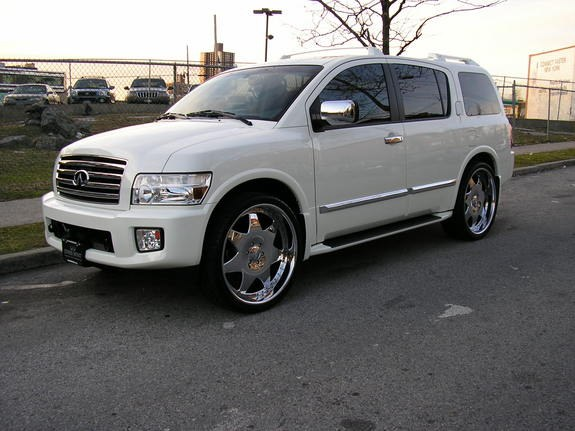 06qx56 2006 infiniti qx specs photos modification info at cardomain. Black Bedroom Furniture Sets. Home Design Ideas