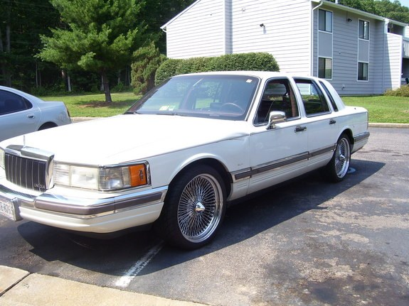 bigbodylinc 1990 lincoln town car specs photos modification info at cardomain. Black Bedroom Furniture Sets. Home Design Ideas