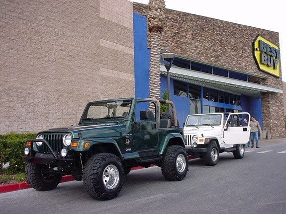 Another notrnd 1999 Jeep Wrangler post... - 8466278