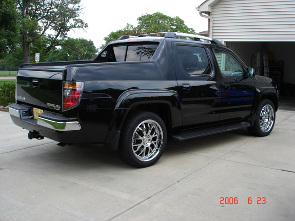 mspeed857 2006 honda ridgeline specs photos modification. Black Bedroom Furniture Sets. Home Design Ideas