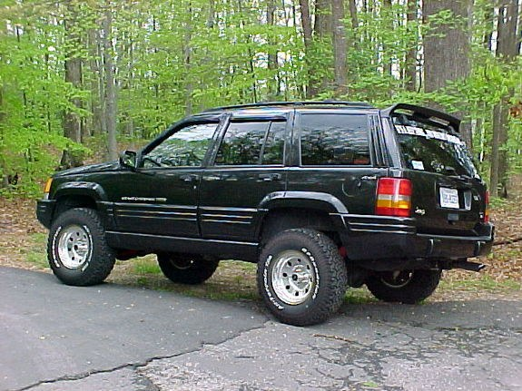 Jeepisgood 1998 jeep grand cherokee specs photos modification info at cardomain for 1998 jeep grand cherokee interior