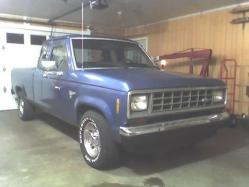 blewranger 1987 Ford Ranger Regular Cab