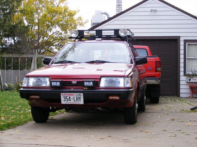 Another Haddaway 1992 Subaru Loyale post... - 8621738