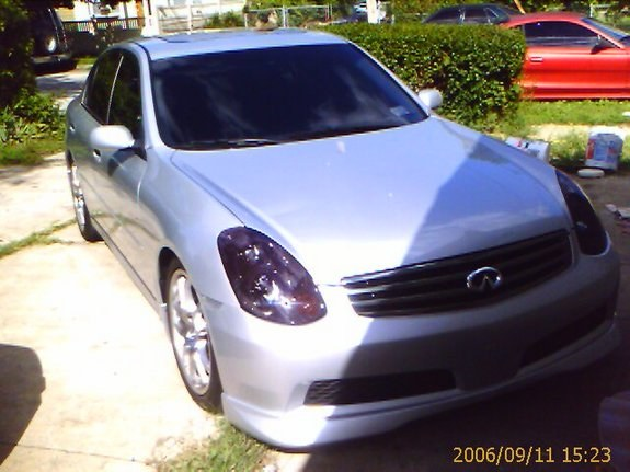 Another onephatalti 2006 Infiniti G post... - 8603189