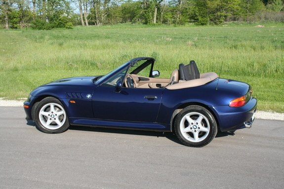 1999 Bmw Z3 Blue 200 Interior And Exterior Images