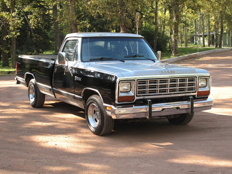 1984 Dodge Ram Short Box Pictures to Pin on Pinterest  PinsDaddy