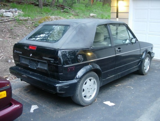 Another luckymcgee 1992 Volkswagen Cabriolet post... - 8625879