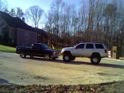 Mellencamps 2002 Jeep Grand Cherokee
