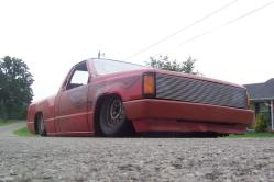 pimpalincoln 1987 Dodge D150 Club Cab