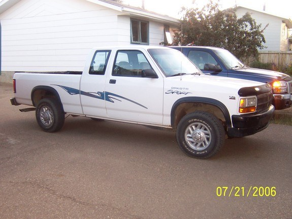 cljeffy 1996 Dodge Dakota Regular Cab & Chassis