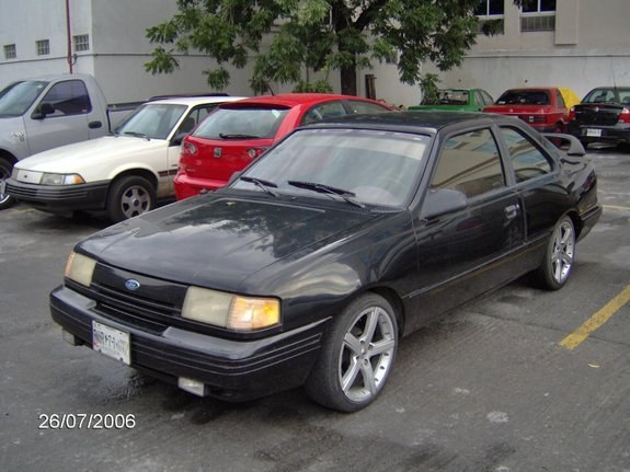 dovermann 39 s 1993 ford tempo in monterrey. Black Bedroom Furniture Sets. Home Design Ideas