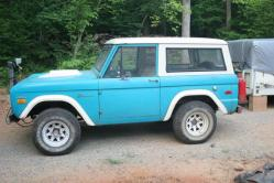 Cornerhorse 1971 Ford Bronco