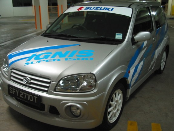 acemojo 2005 suzuki ignis specs photos modification info. Black Bedroom Furniture Sets. Home Design Ideas