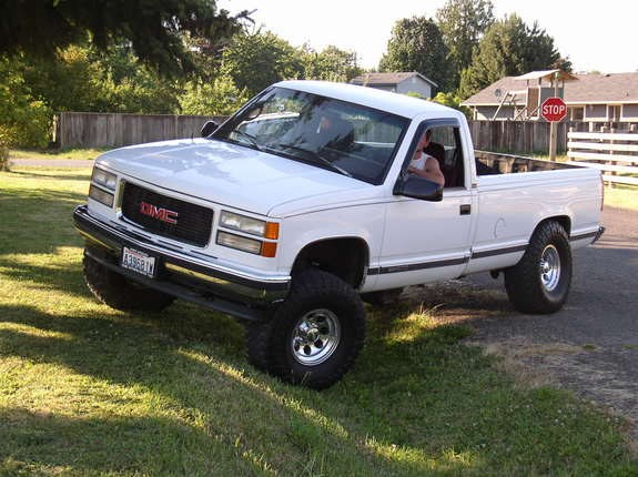 john t williams 1995 gmc sierra 1500 regular cab specs. Black Bedroom Furniture Sets. Home Design Ideas