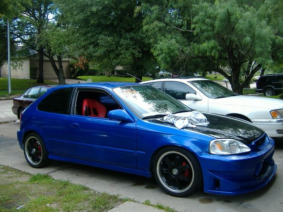 honda civic fastback 1998