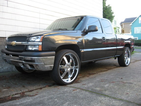 Rollinbowties 2004 Chevrolet Silverado 1500 Regular Cab