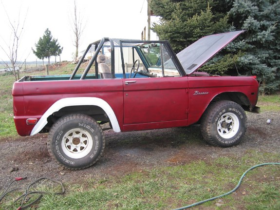 76TargaS's 1968 Ford Bronco