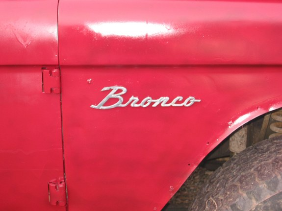 76TargaS 1968 Ford Bronco 8718689
