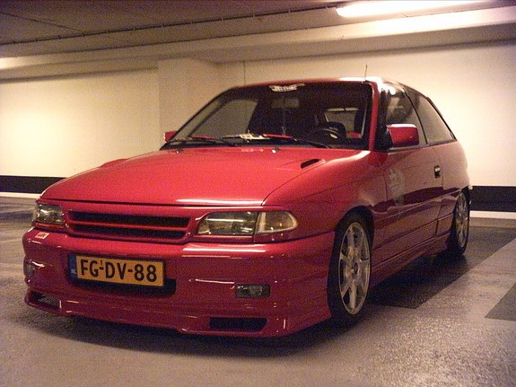Yingyangswift 1992 Opel Astra Specs Photos Modification