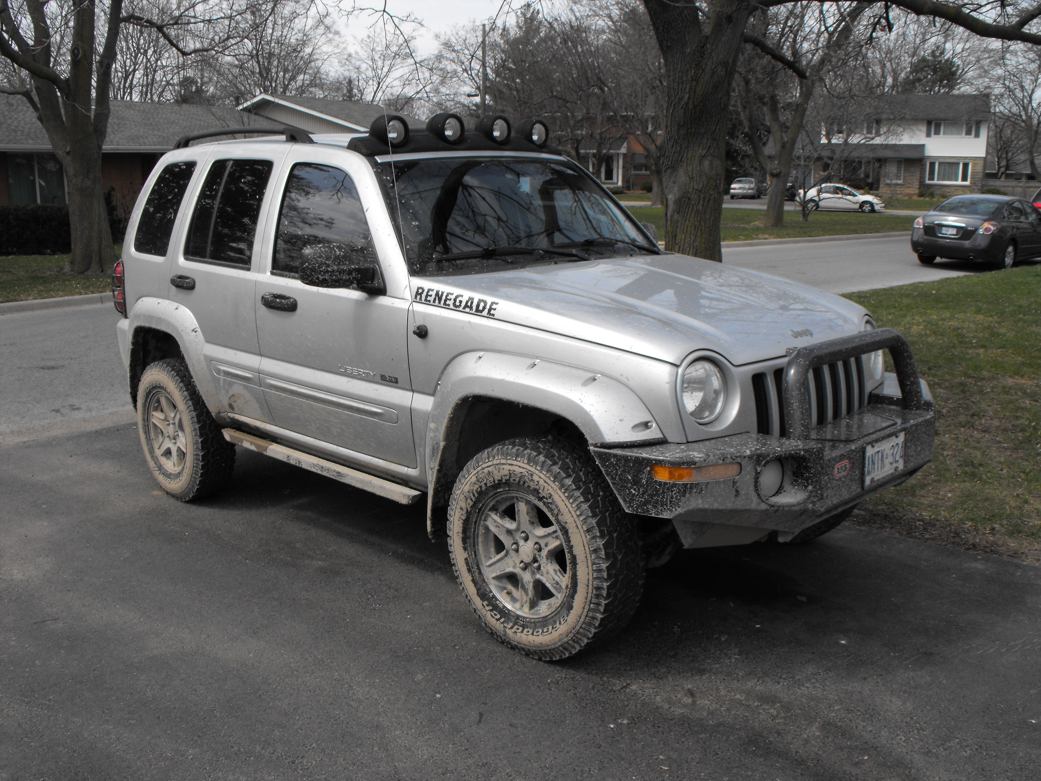 SweepnChoke 2002 Jeep Liberty 8852449