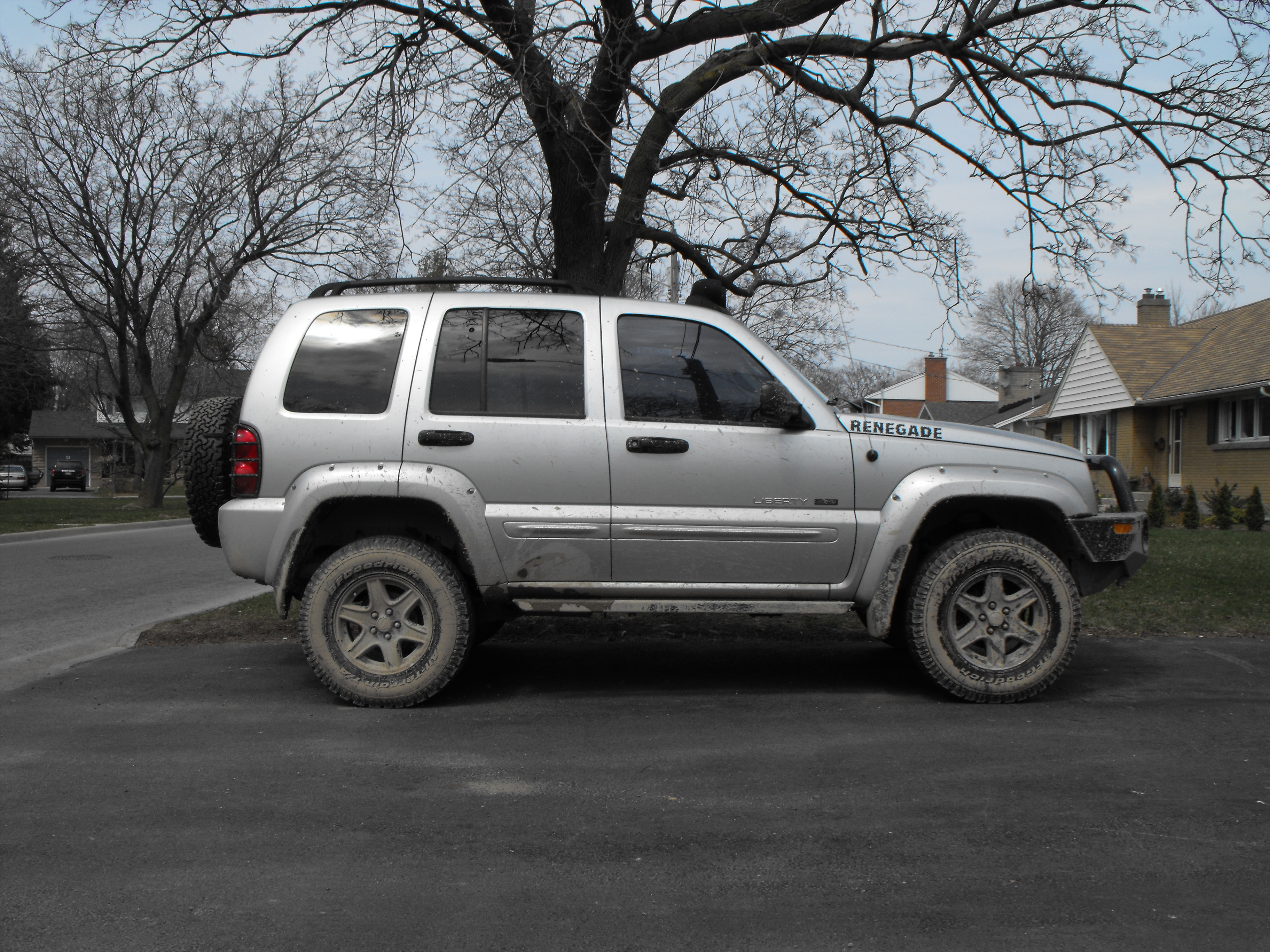 SweepnChoke 2002 Jeep Liberty 8852450