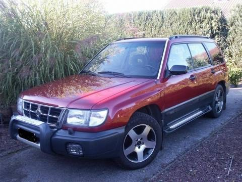 Large on Subaru Forester 2 0 1991 Specs And Images