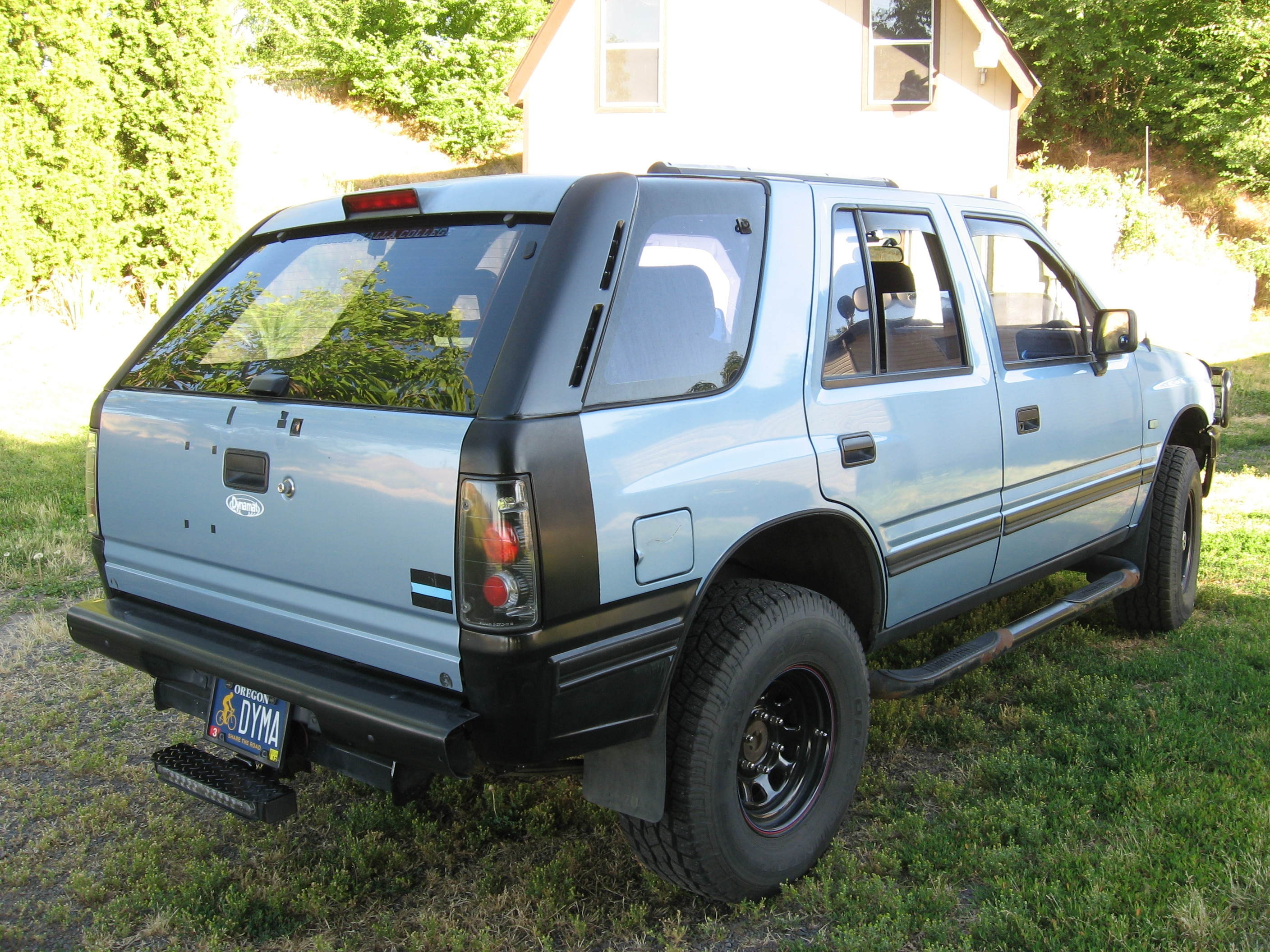93rodeoblue 1993 isuzu rodeo specs photos modification info at