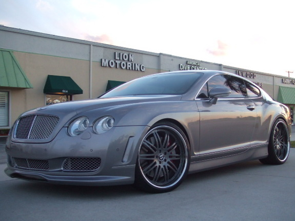 LIONMOTORINGcom 2005 Bentley Continental GT