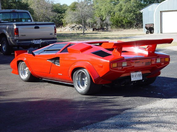 mbrund 1985 lamborghini countach specs photos modification info at cardomain. Black Bedroom Furniture Sets. Home Design Ideas