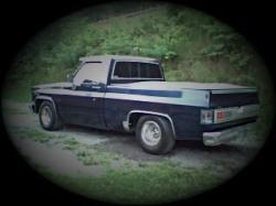 chevy_olblue 1987 Chevrolet Silverado 1500 Regular Cab