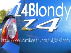 Z4Blondy 2003 BMW Z4