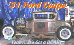 354hemihead 1931 Ford Coupe