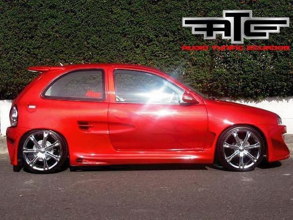 applered 1997 opel corsa specs photos modification info at cardomain. Black Bedroom Furniture Sets. Home Design Ideas