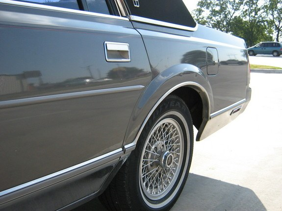 89towncarsig 1989 Lincoln Town Car 8870060