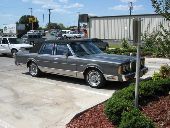 89towncarsig 1989 Lincoln Town Car 8870067