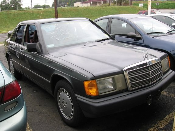 Whynot tm 39 s 1987 mercedes benz 190 class in union nj for Mercedes benz in union nj