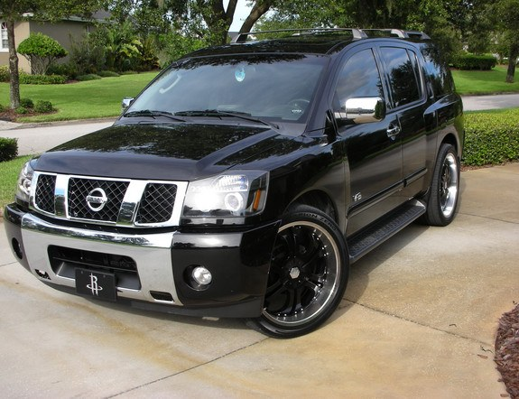 awesomemada05 2005 nissan pathfinder armada specs photos modification info at cardomain. Black Bedroom Furniture Sets. Home Design Ideas