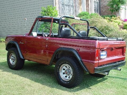 camrags 1968 Ford Bronco 8820724
