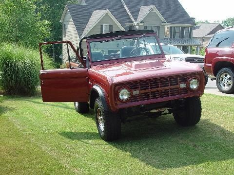camrags 1968 Ford Bronco